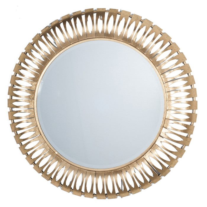 Round Metal Wall Mirror Mirrors Home Decor The Atrium
