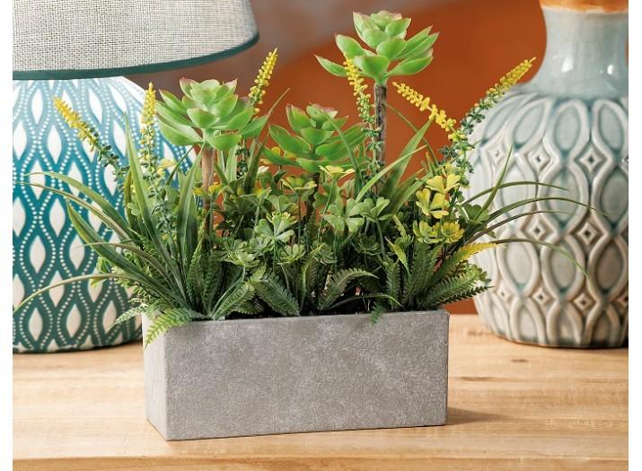 Pot With Plant Decor Artificial Plants Flowers Home Decor The Atrium