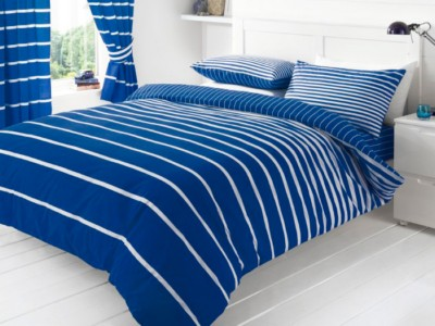 household-goods/bed-linen-towels/printed-duvet-set-double-linear-blue-