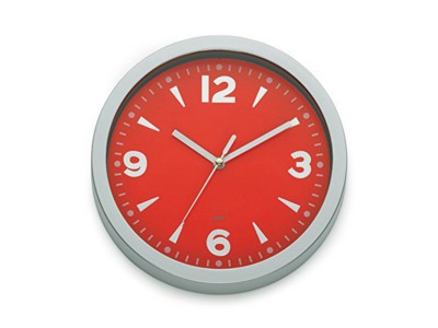 home-decor/clocks-mirrors/red-wall-clock