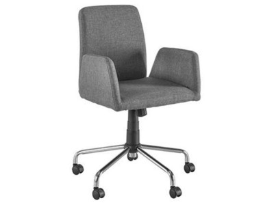 a649b4ad826 Offer Square Office Chair Fabric Grey