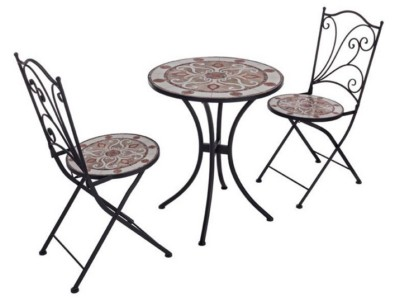 Meknes Set Table With 2 Chairs