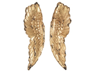 home-decor/wall-decor/sale-gold-polyresin-angel-wings-wall-art