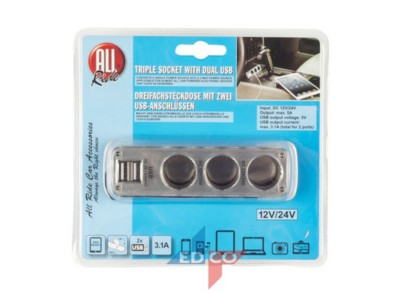 diy-and-homeware/automotive-accessories/triple-socket-2usb