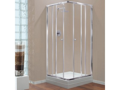 Corner Shower Cubicle Clear Glass