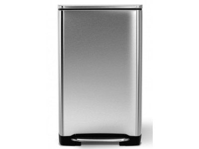 household-goods/houseware/wide-pedal-bin-38l-brushed-steel