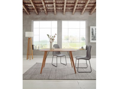 7902c782c5d9 Dupen Manhattan Table Natural Oak