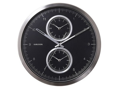 home-decor/clocks-mirrors/wall-clock-multiple-time-alu-brushed