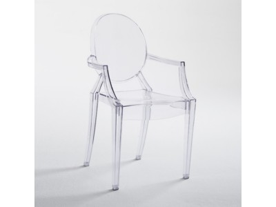 dining/dining-chairs/polycarbonate-ghost-armchair-clear
