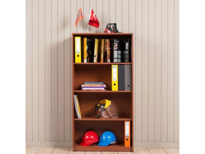 office/bookcases/offer-roma-bookcase-with-4-shelves-76x148x35
