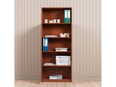 office/bookcases/roma-bookcase-5-shelves-76x184x35