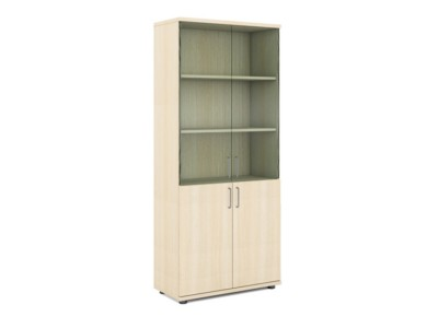 office/bookcases/high-cabinet-with-glass-milk-oak
